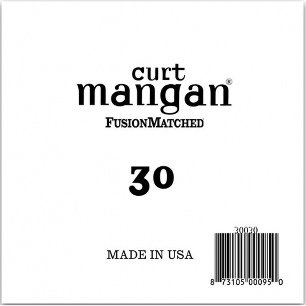 Curt Mangan Nickel Bass...