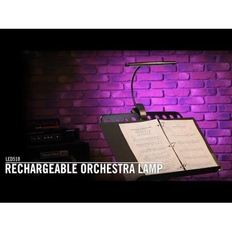 OnStage LED518 - Lampa Orchestra (LED) On-Stage Stands - 1