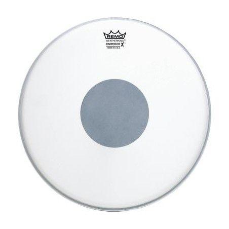 """Remo Emperor X Coated Black Dot 14"""" - Fata toba Remo - 1"""
