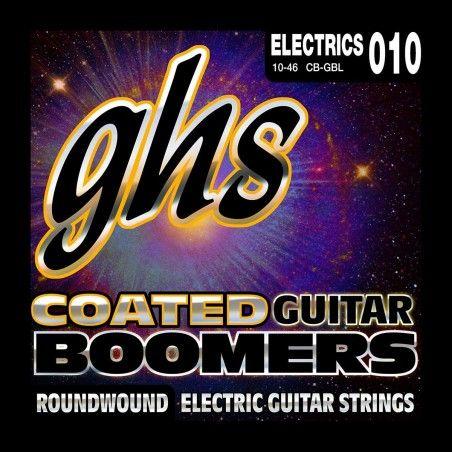 GHS CB-GBL Coated Boomers - Set corzi chitara GHS - 1