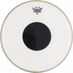 "Remo Controlled Sound Clear 10"", punctul negru deasupra - Fata toba Remo - 1"