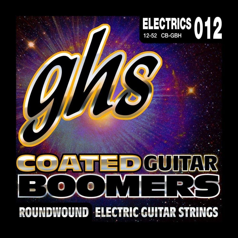GHS CB-GBH Coated Boomers - Set corzi chitara electrica GHS - 1