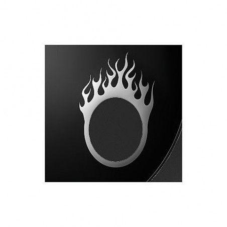 """Remo DynamO 5"""" Flame - Cerc argintiu toba mare Remo - 1"""