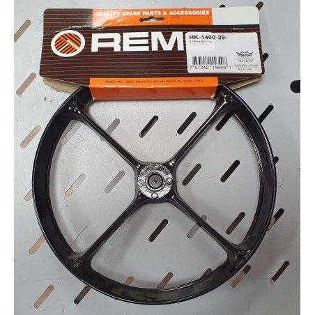 Remo  9.5 Black Roto Top - Inel Superior Remo - 1