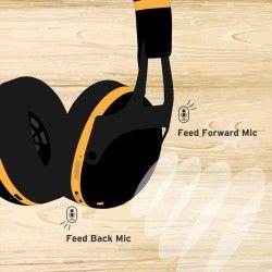 Vox VH-Q1 White - Casti Bluetooth cu Noise Cancelling Vox - 5