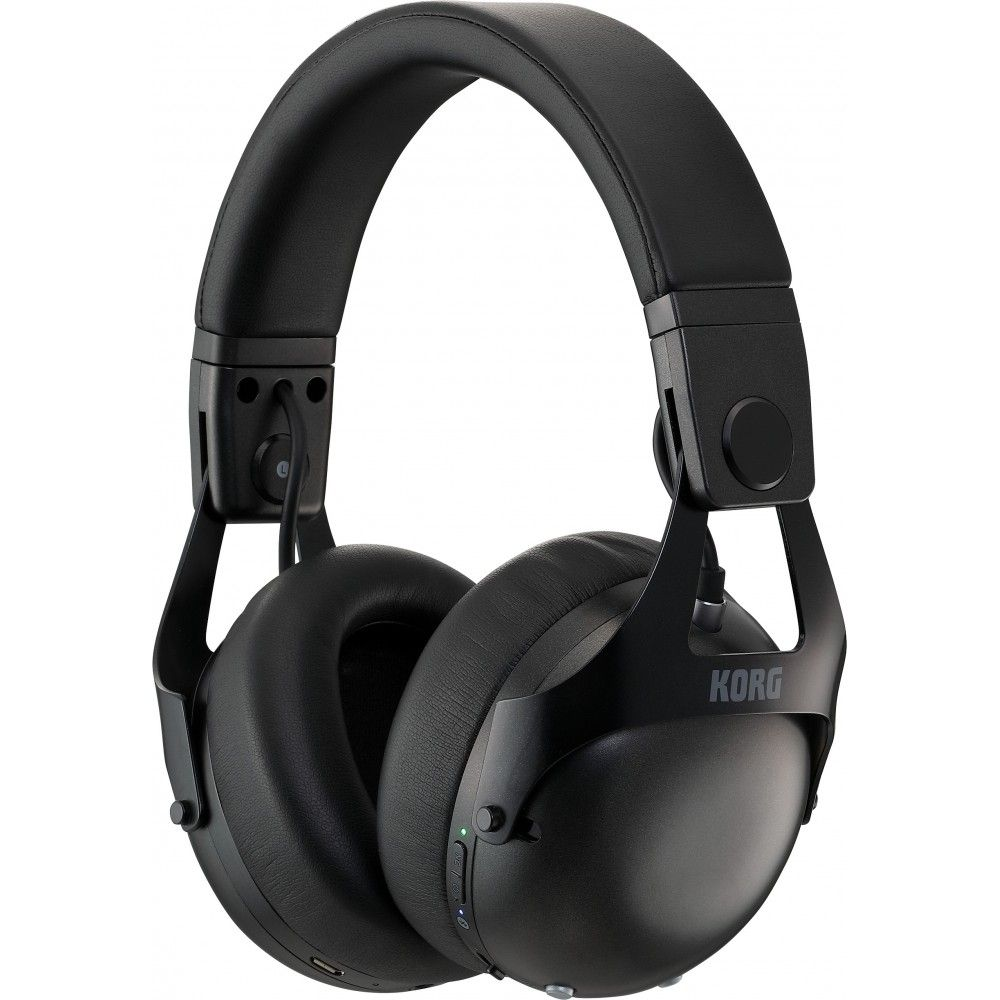 Korg NC-Q1 Black - Casti DJ cu Noise Cancelling Korg - 1