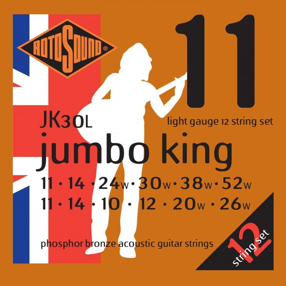 Rotosound Jumbo King JK30L...