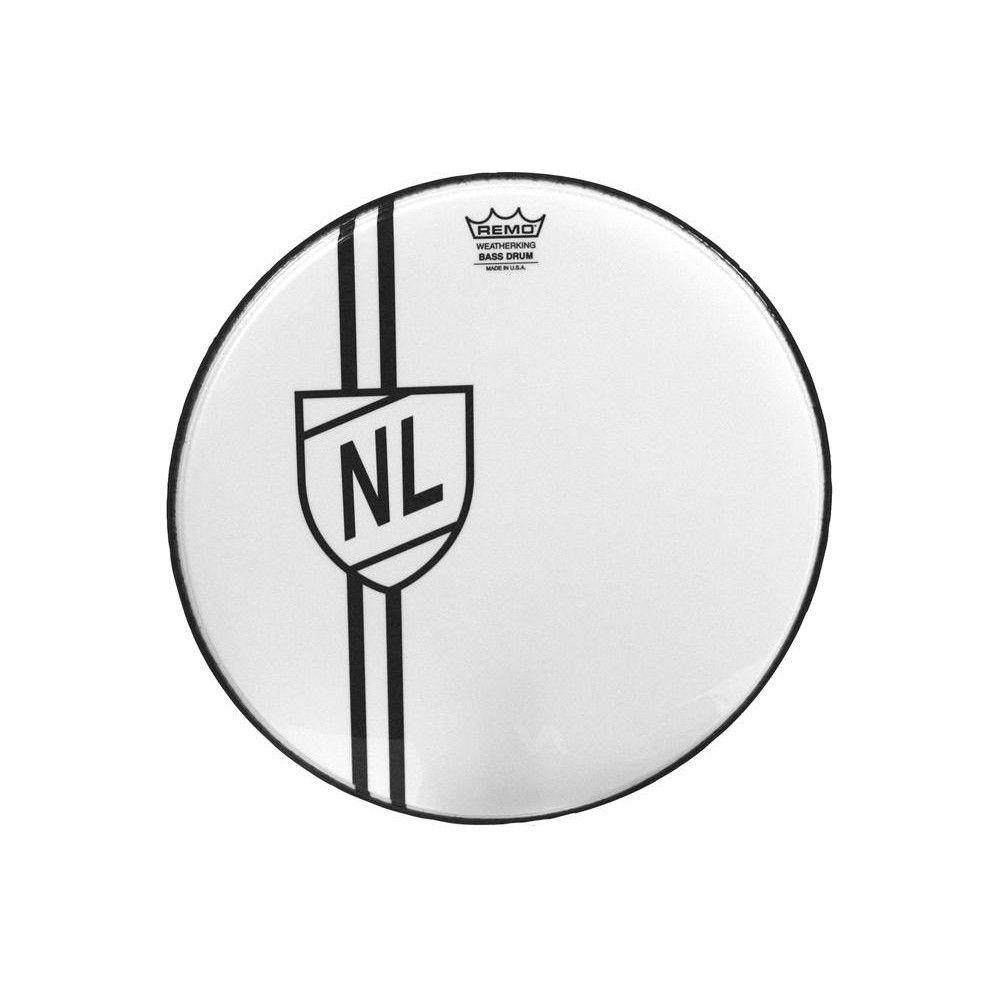 """Remo Graphic 22"""" Vintage Shield - Fata toba mare Remo - 1"""