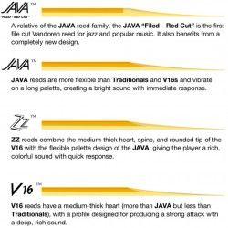 Vandoren JAVA 2.0 - Ancie saxofon alto Vandoren - 3