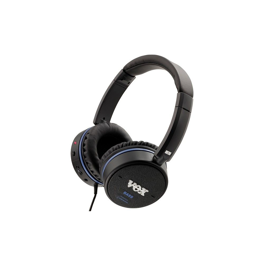 VOX Amphones 2  Bass - Casti Audio cu amplificator chitara Bass incorporat Vox - 1