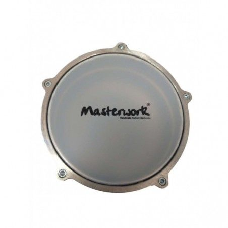 Masterwork Turkish Alluminium Relief Silver Washed - Darbouka Masterwork - 1