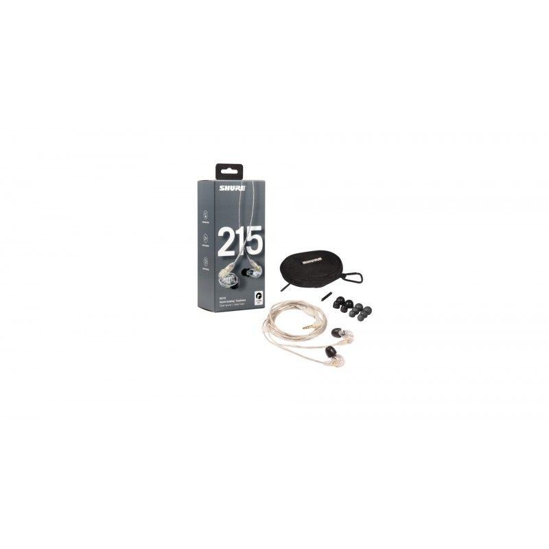 Shure SE215-CL - Sistem de monitorizare In-Ear Shure - 1