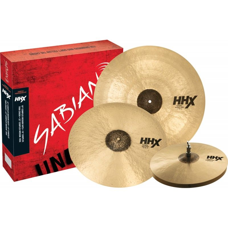 Sabian HHX Complex Performance Pack - Pachet Cinele Sabian - 1
