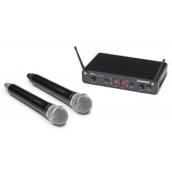 Samson CR288 Handheld cu microfoane Q6 (J) - Sistem Wireless Cu Microfon Samson - 1