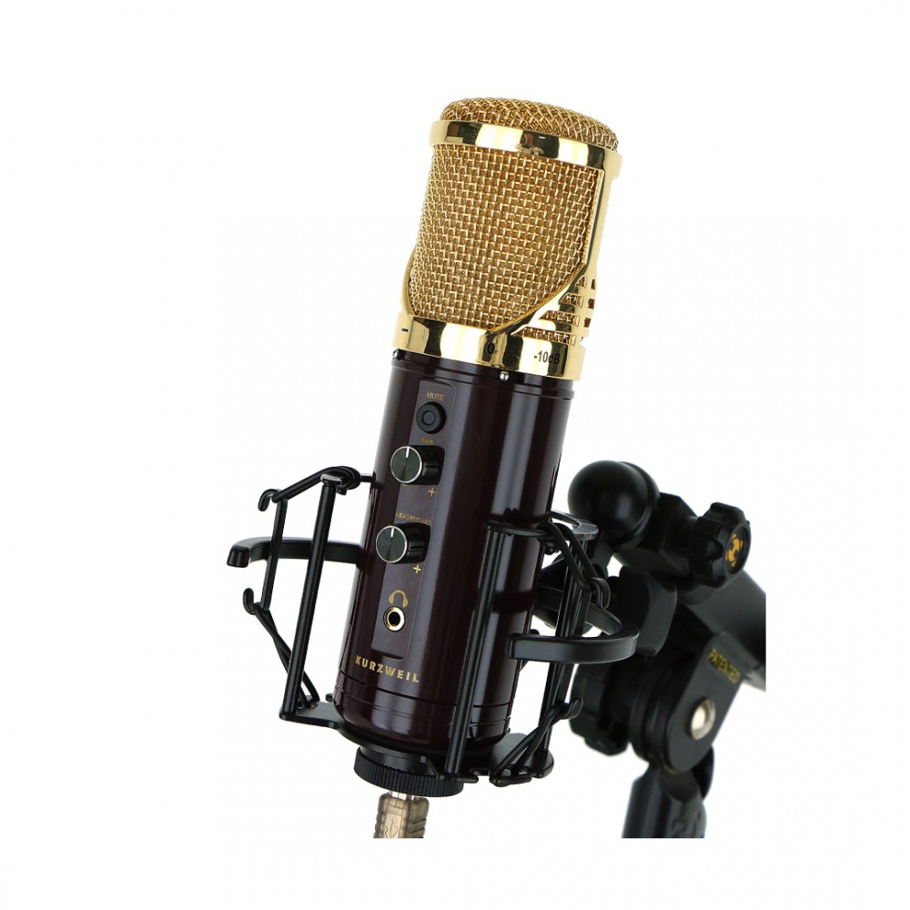 Kurzweil KM-1U Gold - Microfon Condenser USB Kurzweil - 1