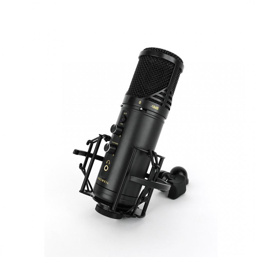 Kurzweil KM-2U Black - Microfon Condenser USB Kurzweil - 1