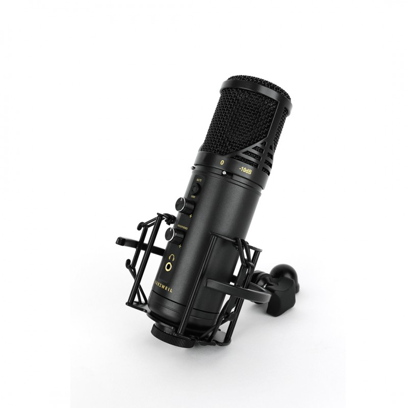 Kurzweil KM-1U Black - Microfon Condenser USB Kurzweil - 1