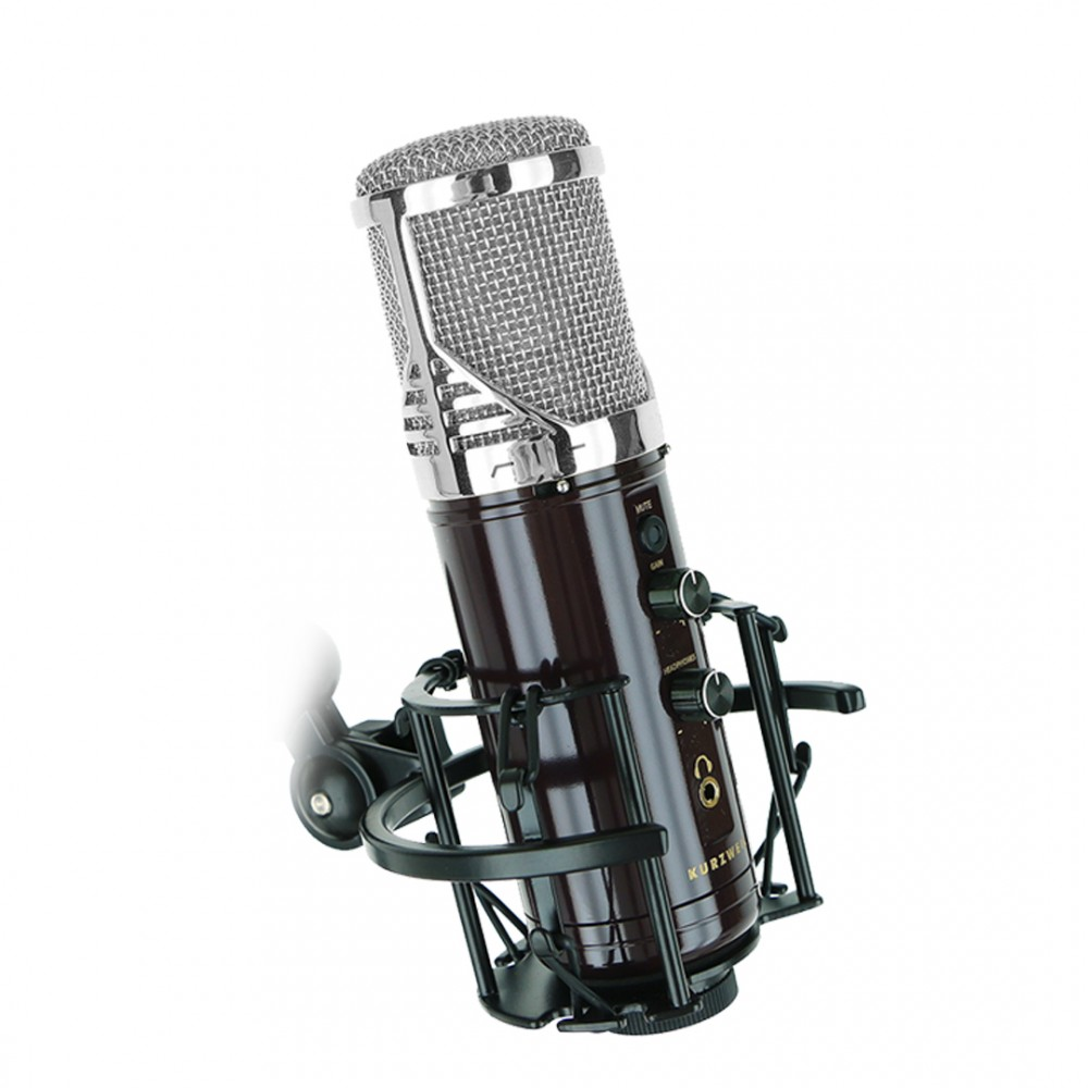 Kurzweil KM-1U Silver - Microfon Condenser USB Kurzweil - 1