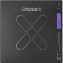 D'Addario XT Acoustic 80/20 Custom Light - Corzi Chitara Acustica 11-52 D'Addario - 1