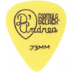 D'Andrea RD 351.73 YEL DLRX - Pană chitară D'Andrea - 1