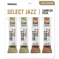 D'Addario SJ ASX Sampler PK 3S - 3M - Ancii saxofon Tenor (Set de 4) D'Addario - 1