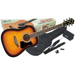 Ibanez V50NJP-VS - Pachet chitara acustica cu accesorii