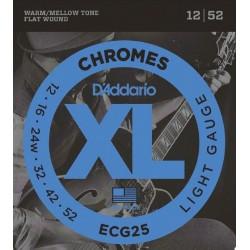 D'Addario ECG25 Chromez LT...