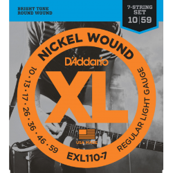 D'Addario EXL110-7 - Set 7...