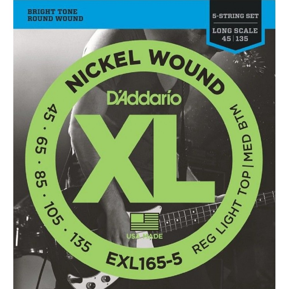 D'Addario EXL165-5 - Set 5...