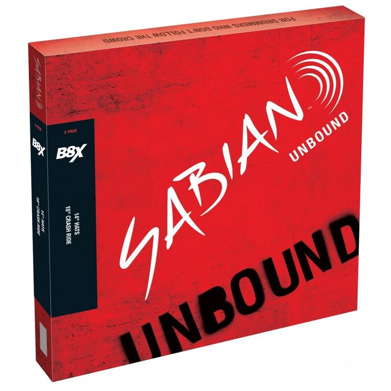 Sabian B8X 2-Pack + 14 -...