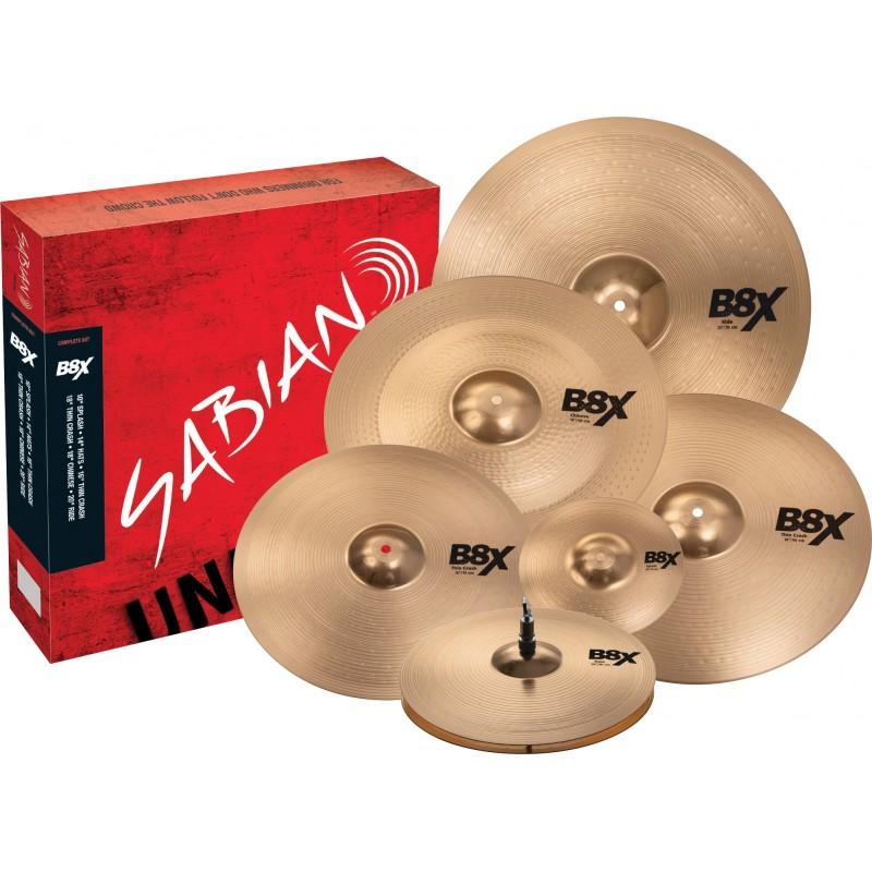 Sabian B8X Complete Set -...