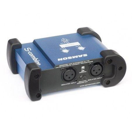 Samson S-Combine - Insumator semnal microfon 2 la 1 Samson - 1
