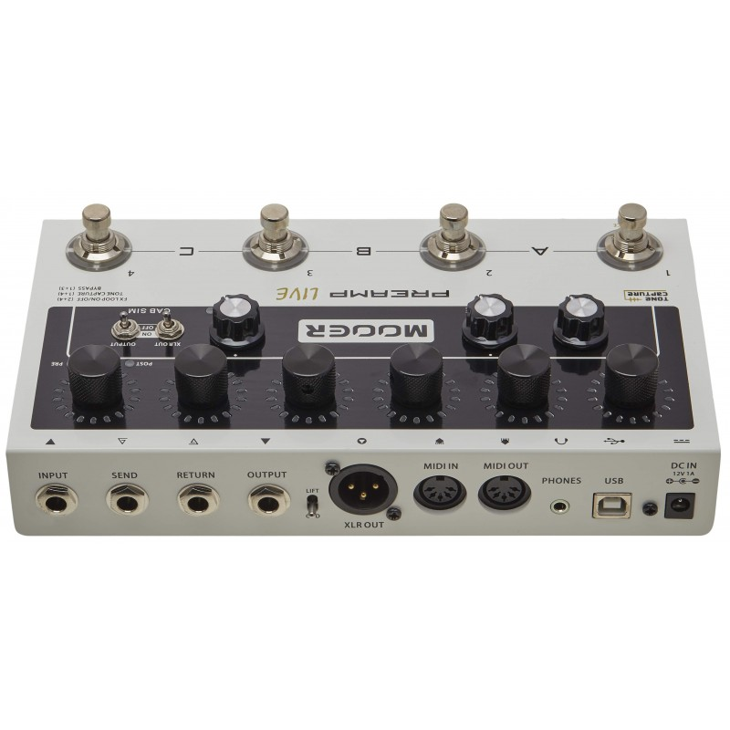 MOOER M999 Preamp Live -...