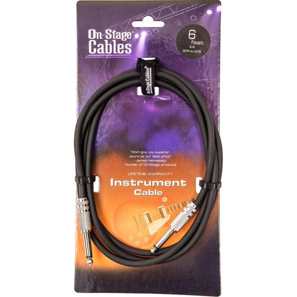 OnStage IC-6 - Cablu...