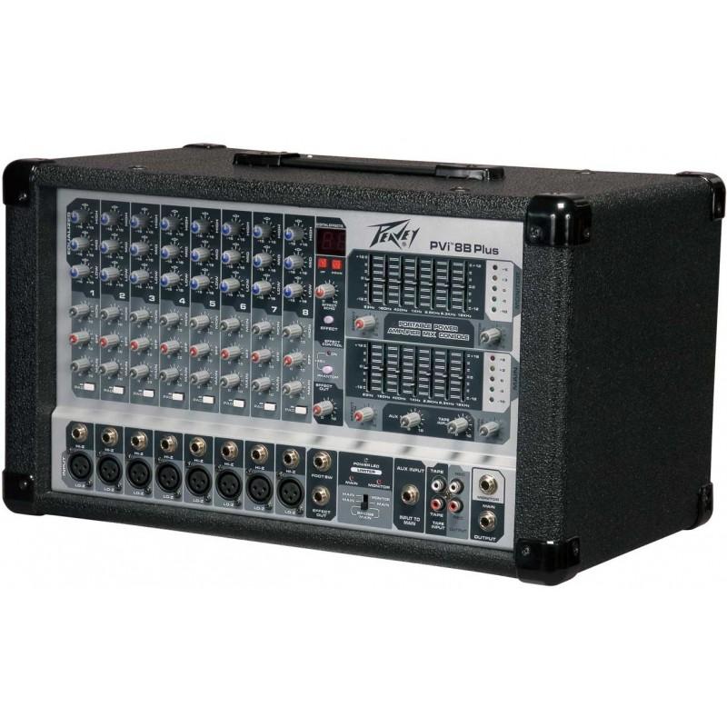 Peavey PVi 8B+ - Mixer amplificat Peavey - 1