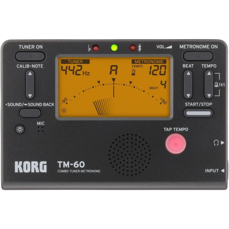 Korg TM-60-BK - Acordor...