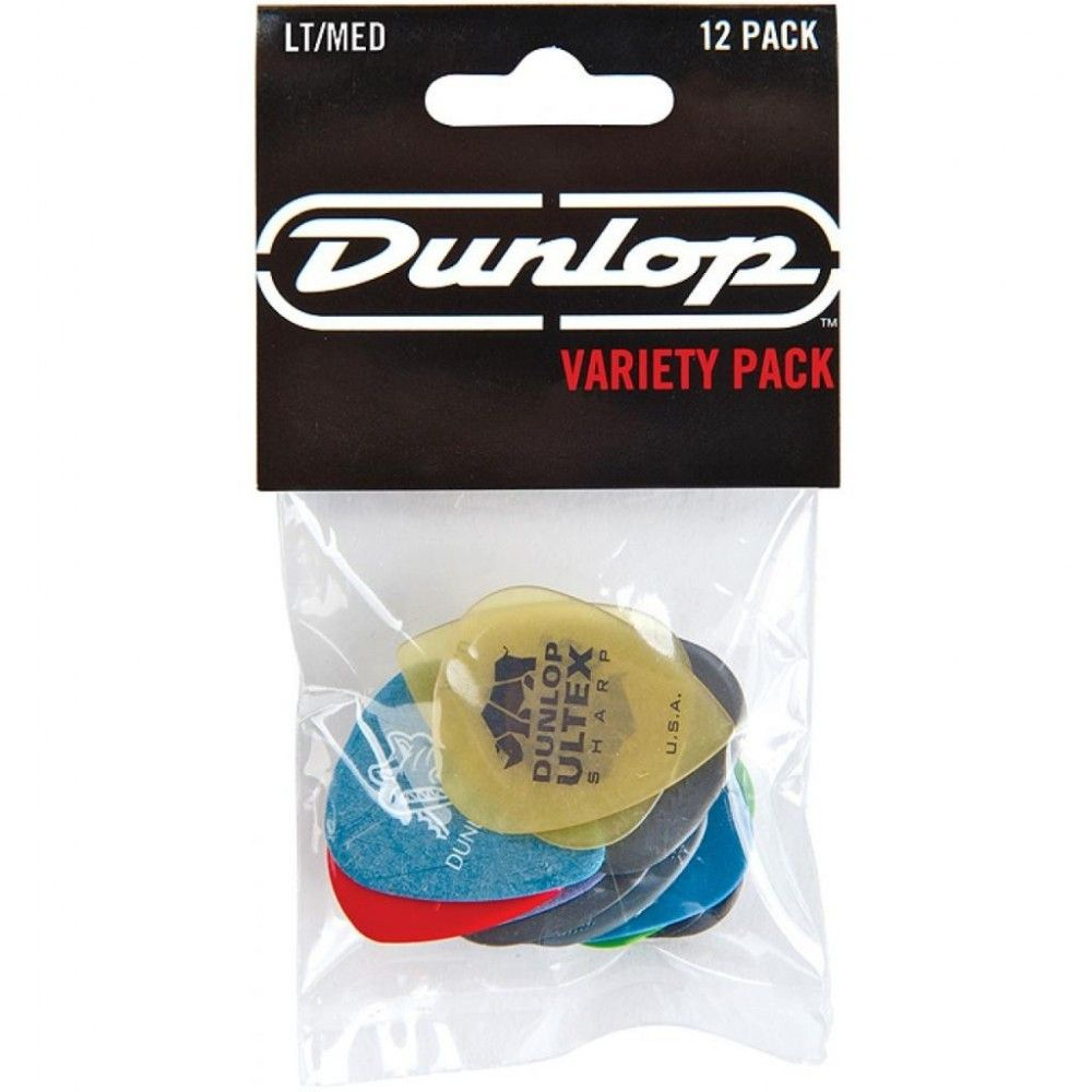 Dunlop PVP101 Variety Pack Light Medium - Set pene chitară Dunlop - 1