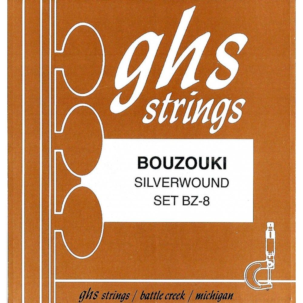 GHS BZ-8 - Set Corzi Bouzouki GHS - 1