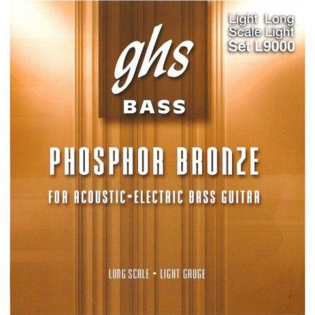 GHS L9000 - Set Corzi Chitara Bass Acustic 40-96 GHS - 1