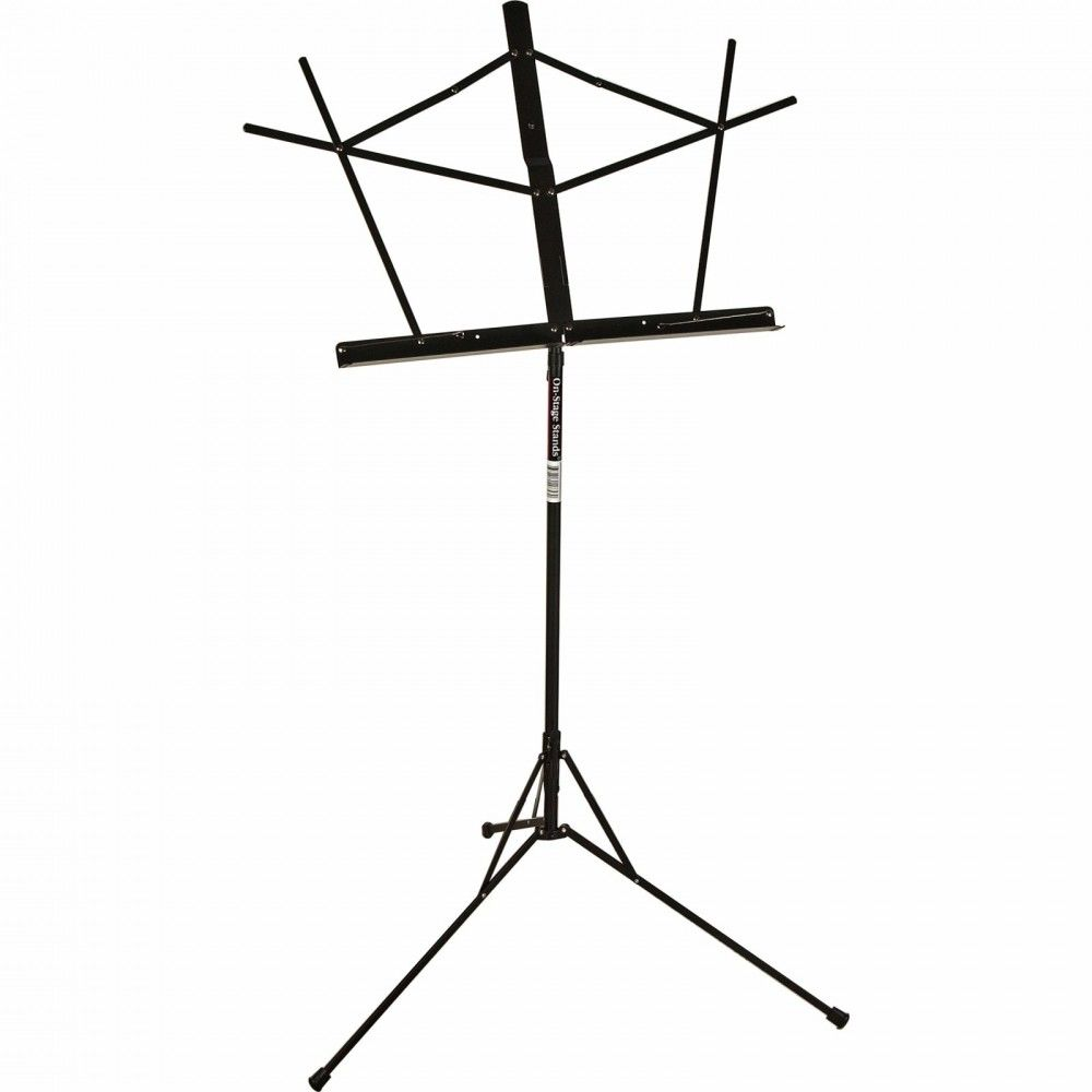 OnStage SM7122BB - Stativ note cu husa On-Stage Stands - 1