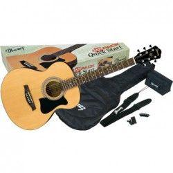 Ibanez VC50NJP-NT - Pachet chitara acustica cu accesorii