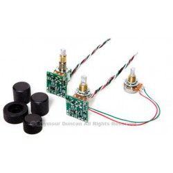 Seymour Duncan STC-2C-BO Blackouts - Circuit activ ton 2 benzi concentric Seymour Duncan - 1