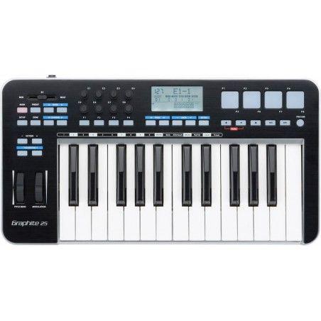 Samson Graphite 25 - Controller MIDI Samson - 1