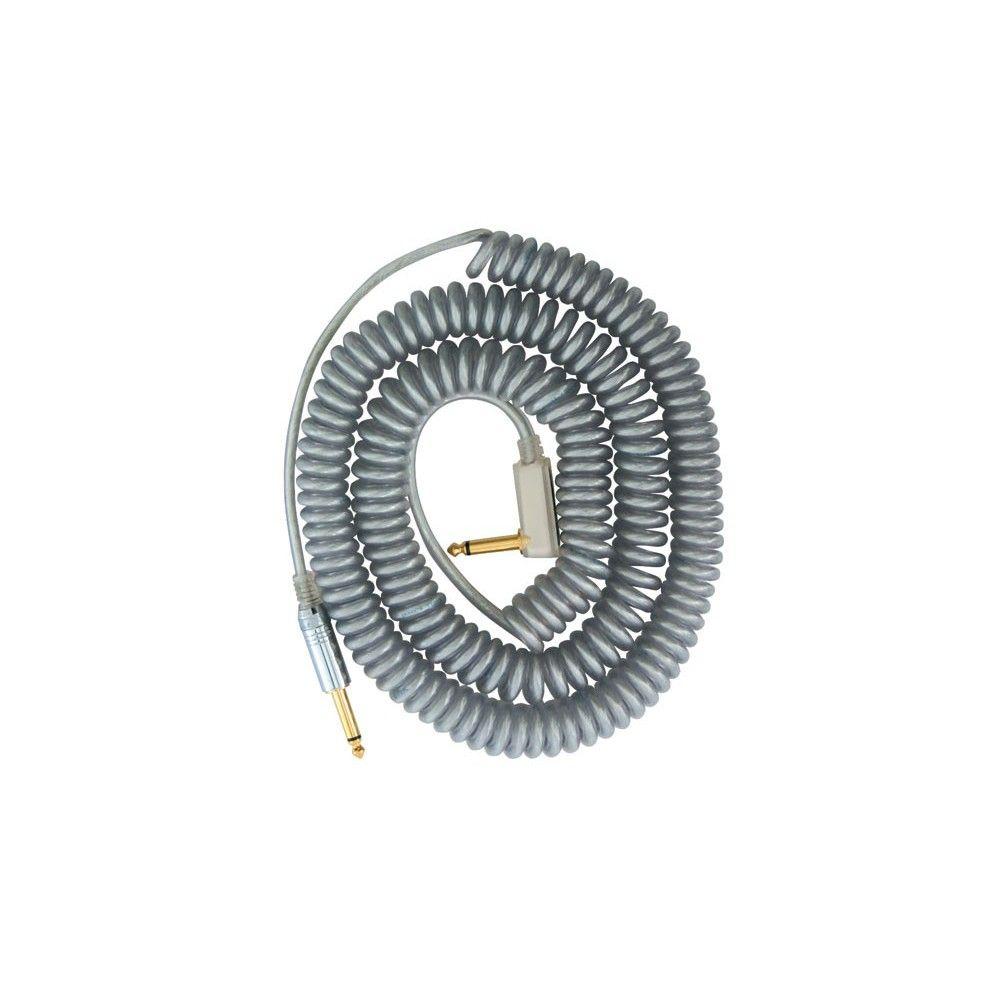 Vox VCC-90 Coil Cable Silver - Cablu chitara Vox - 1