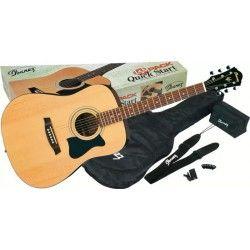 Ibanez V50NJP-NT - Pachet chitara acustica cu accesorii