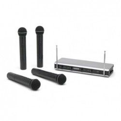 Samson Stage V466 A Quad Vocal - Sistem wireless cu microfon