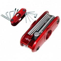 Ibanez MTZ11 Red Multi Tool - Unealta universala chitara Ibanez - 1