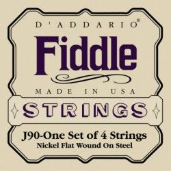 D'Addario J90 Fiddle 4/4 -...
