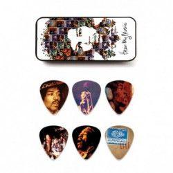 Dunlop JH-PT07M Jimi Hendrix Pick Tin - Set pene chitară Dunlop - 1