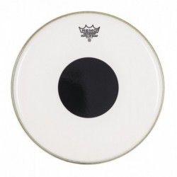 "Remo Controlled Sound Clear 18"", punctul negru deasupra - Fata toba Remo - 1"